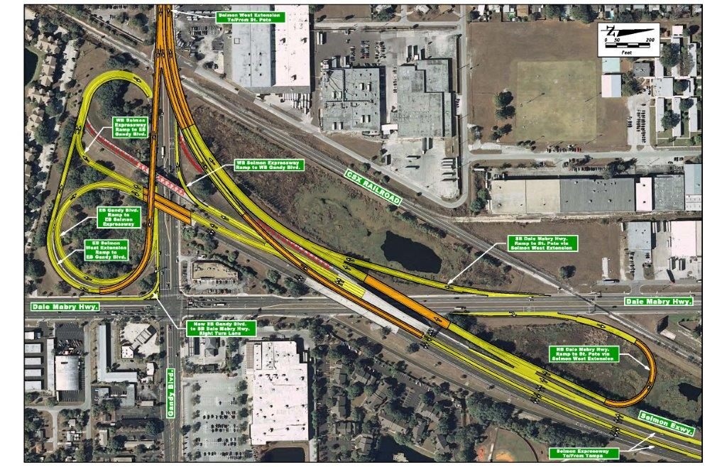 Selmon/Gandy Interchange Example