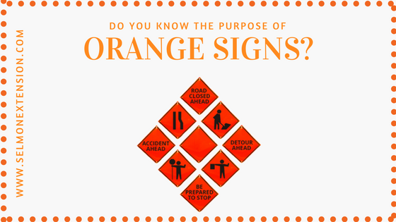 Selmon Extension Orange Signs